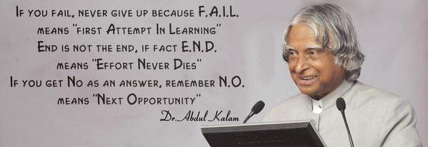 """Image result for you fail, never give up because F.A.I.L. means """"First Attempt In Learning"""". End is not the end, if fact E.N.D. means """"Effort Never Dies."""""""